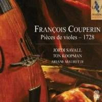 COUPERIN FRANCOIS - PIECES DE VIOLES