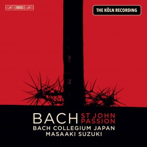 BACH J.S - ST JOHN  PASSION (THE KOLN RECORDING)