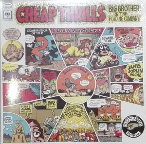 JOPLIN JANIS BIG BROTHER & HOLDING COMPANY-CHEAP THRILLS