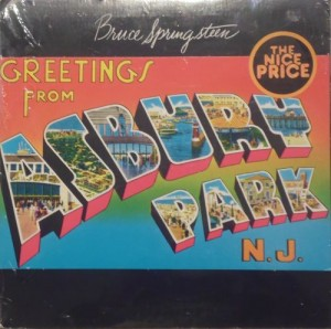 SPRINGSTEEN BRUCE - GREETINGS FROM ASHBURY PARK