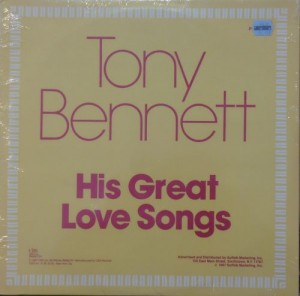 BENNETT TONY - HIS GREAT LOVE SONGS