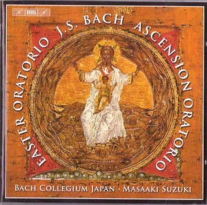 BACH JAN SEBASTIAN-EASTER ORATORIO