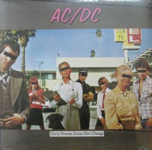 AC/DC - DIRTY DEEDS DONE CHEAP